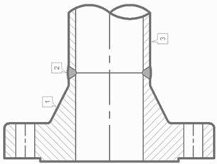 Фланец приварной с буртиком (воротниковый) atmsteel атмстил