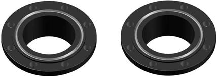 Фланец с пазом под кольцевое уплотнение (RTJ - Ring Type Joint)