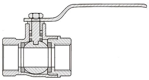 Шаровый кран ASTM
